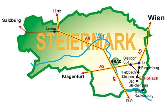 Verkehrsspinne Feldbach Höflach