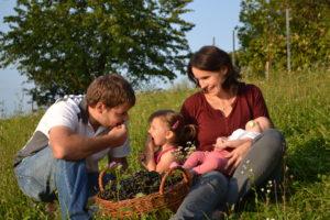 Familie Claudia und Georg Grain